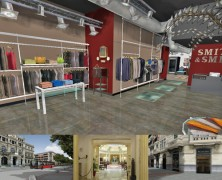 Aplicaciones E-shopping 3D