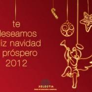 te deseamos Feliz Navidad y próspero año 2012We wish you a Merry Christmas