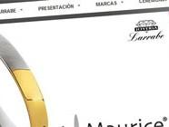 Diseño web Joyería Larrabe