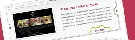 Diseño web Yacha