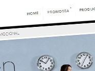 Diseño web de Promotea
