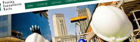 Diseño web de Preving Consultores Norte