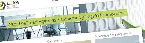 Diseño web de Ediciones América